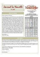 Journal mai 2021